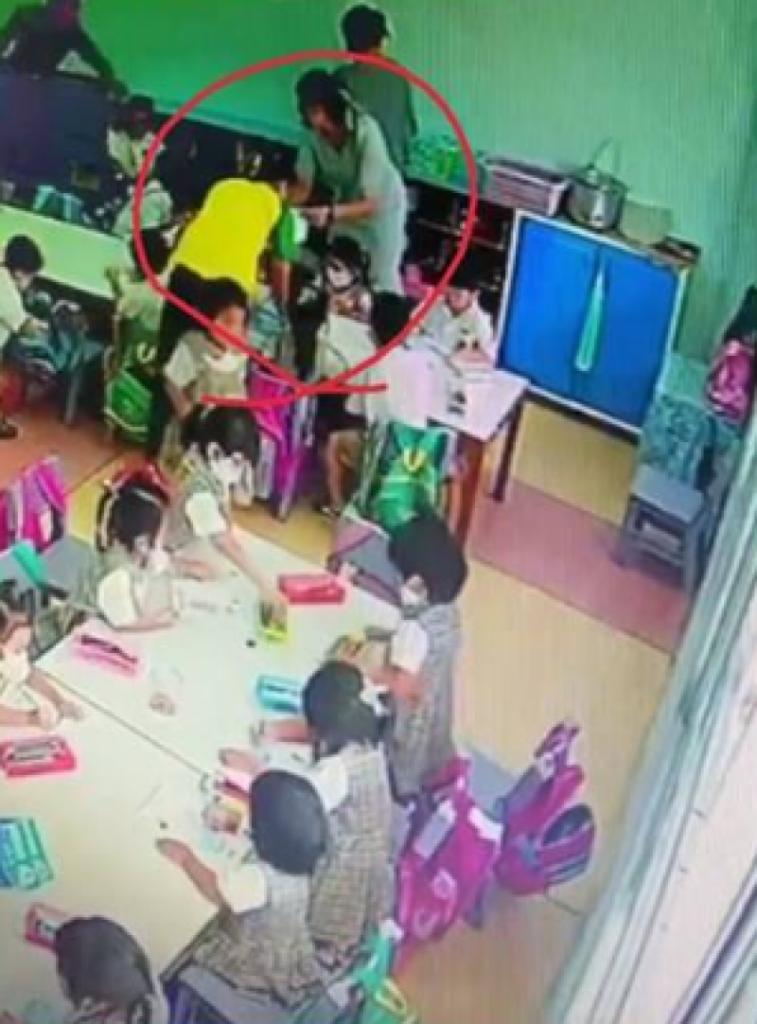 ครูโหดทารุณเด็ก
