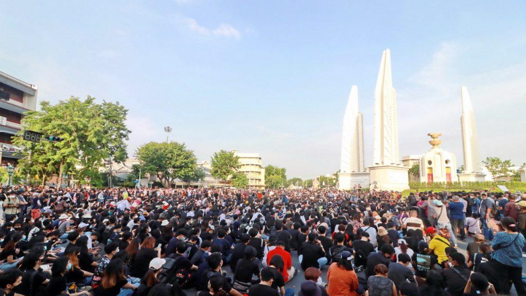 การชุมนุมครั้งที่ยิ่งใหญ่ของประเทศไทย