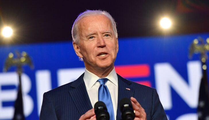 โจ ไบเดน ชนะการเลือกตั้งการเป็นประธานาธิบดีสหรัฐ